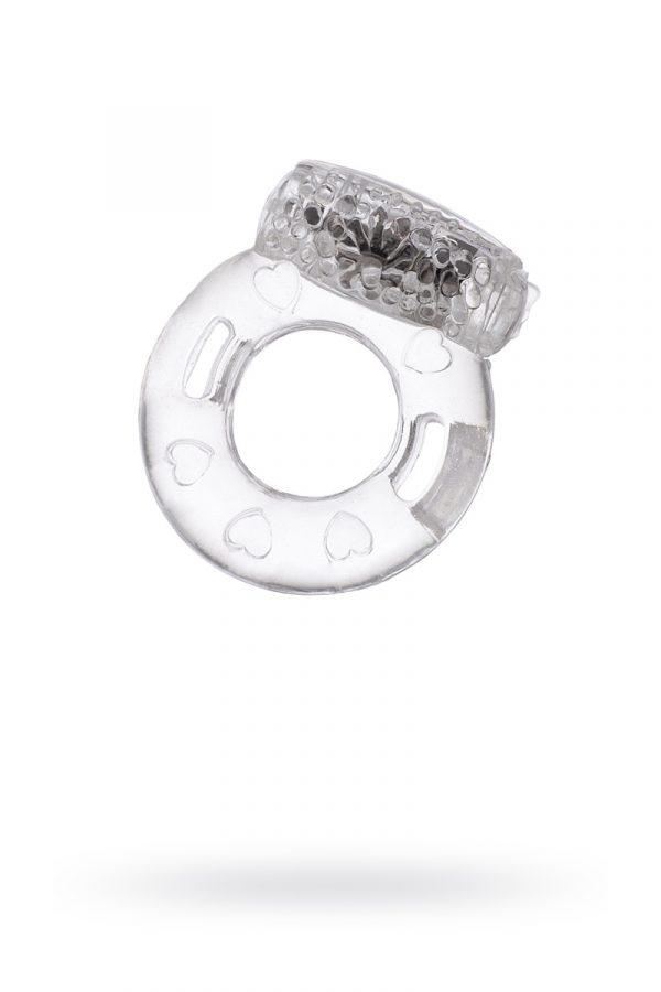 Виброкольцо TOYFA, TPE, прозрачный, Категория - Секс-игрушки/Кольца и насадки/Кольца на пенис, Атрикул 00138515 Изображение 1