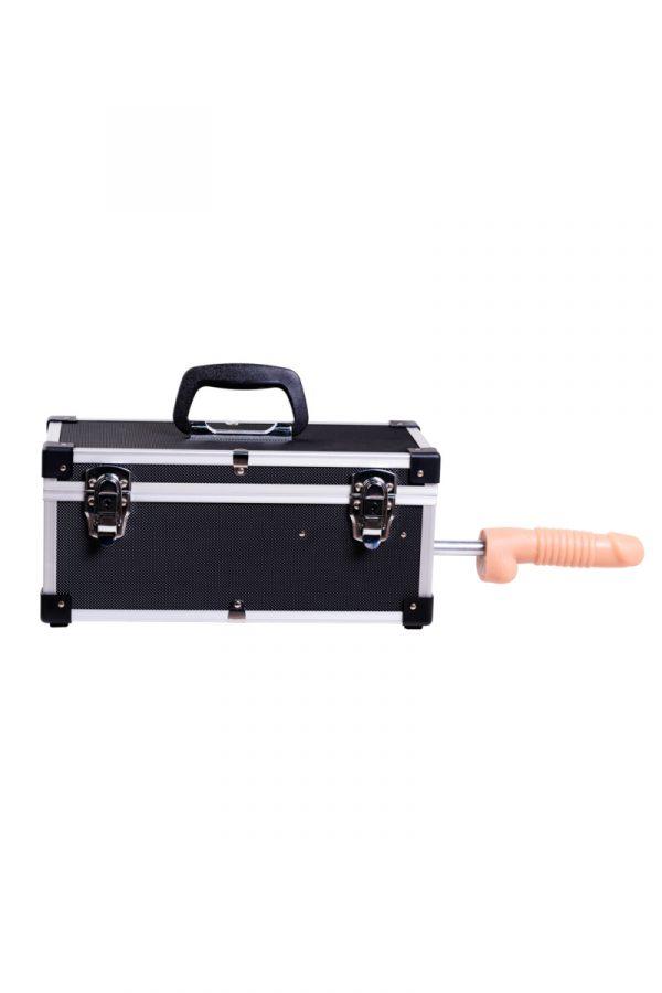 Секс- чемодан, Diva, Tool Box, мателл, черный, с двумя сменными насадками, 41 см, Категория - Секс-игрушки/Секс-машины и аксессуары для секса/Секс-машины, Атрикул 0T-00000730 Изображение 3