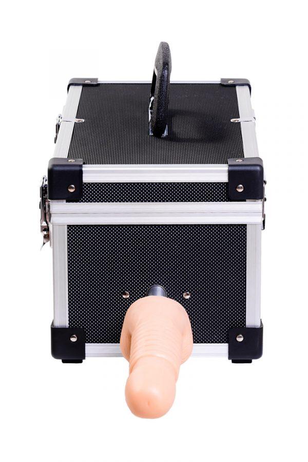 Секс- чемодан, Diva, Tool Box, мателл, черный, с двумя сменными насадками, 41 см, Категория - Секс-игрушки/Секс-машины и аксессуары для секса/Секс-машины, Атрикул 0T-00000730 Изображение 2