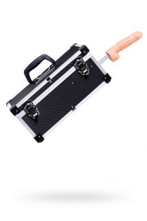 Секс- чемодан, Diva, Tool Box, мателл, черный, с двумя сменными насадками, 41 см, Категория - Секс-игрушки/Секс-машины и аксессуары для секса/Секс-машины, Атрикул 0T-00000730 Изображение 1