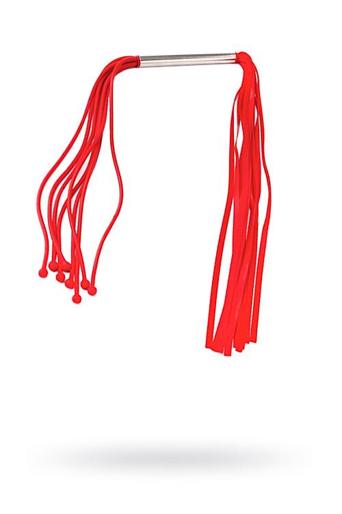 Плеть Sitabella латексная красная двухсторонняя,89 см, Категория - БДСМ, фетиш/Ударные девайсы/Кнуты, плети, флоггеры, Атрикул 00133918 Изображение 1