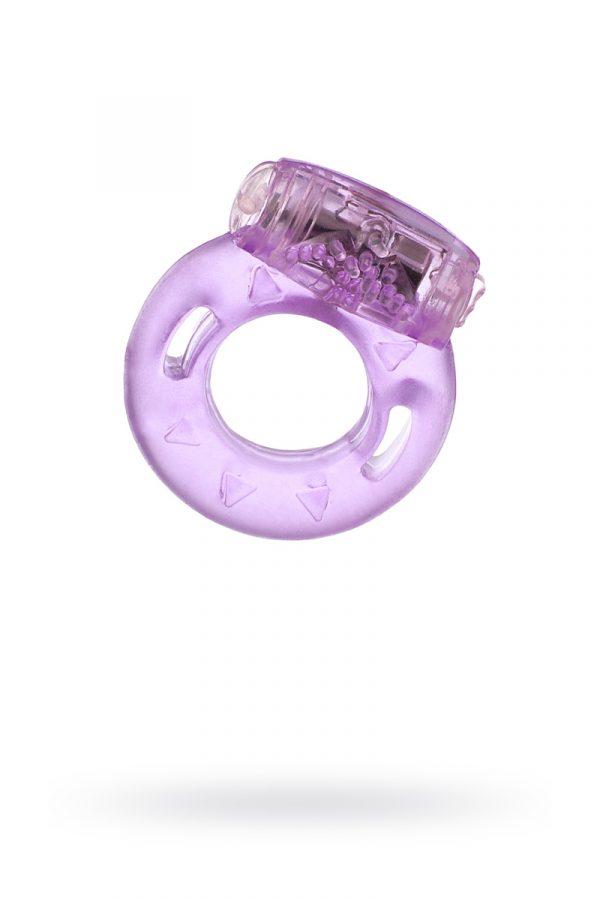 Виброкольцо TOYFA, TPE, фиолетовый, Категория - Секс-игрушки/Кольца и насадки/Кольца на пенис, Атрикул 00138513 Изображение 1
