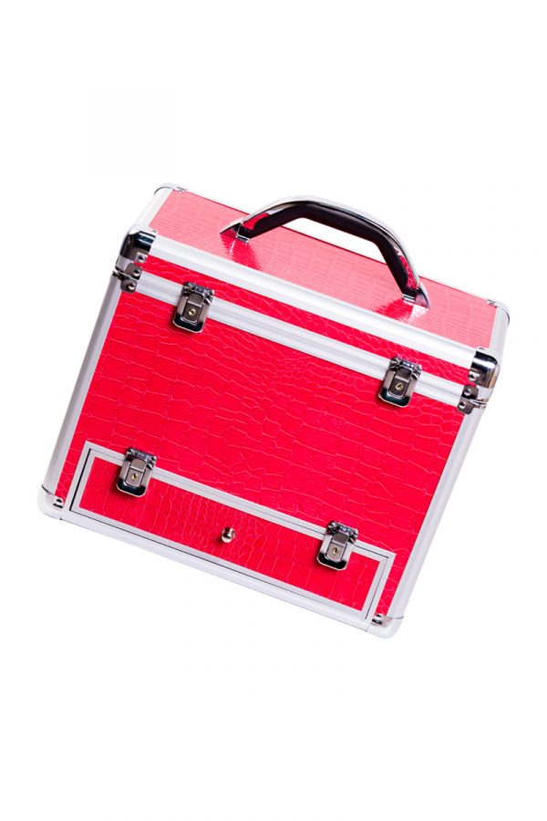 Секс-чемодан, Diva, Wiggler,металл, розовый, с двумя насадками, 17 см, Категория - Секс-игрушки/Секс-машины и аксессуары для секса/Секс-машины, Атрикул 0T-00002603 Изображение 3
