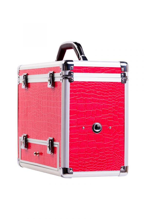 Секс-чемодан, Diva, Wiggler,металл, розовый, с двумя насадками, 17 см, Категория - Секс-игрушки/Секс-машины и аксессуары для секса/Секс-машины, Атрикул 0T-00002603 Изображение 2