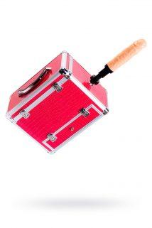 Секс-чемодан, Diva, Wiggler,металл, розовый, с двумя насадками, 17 см, Категория - Секс-игрушки/Секс-машины и аксессуары для секса/Секс-машины, Атрикул 0T-00002603 Изображение 1