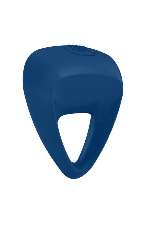 Эрекционное кольцо OVO инновационной трехгранной формы с мощной вибрацией, силиконовое, синее, Категория - Секс-игрушки/Кольца и насадки/Кольца на пенис, Атрикул 0T-00002684 Изображение 1