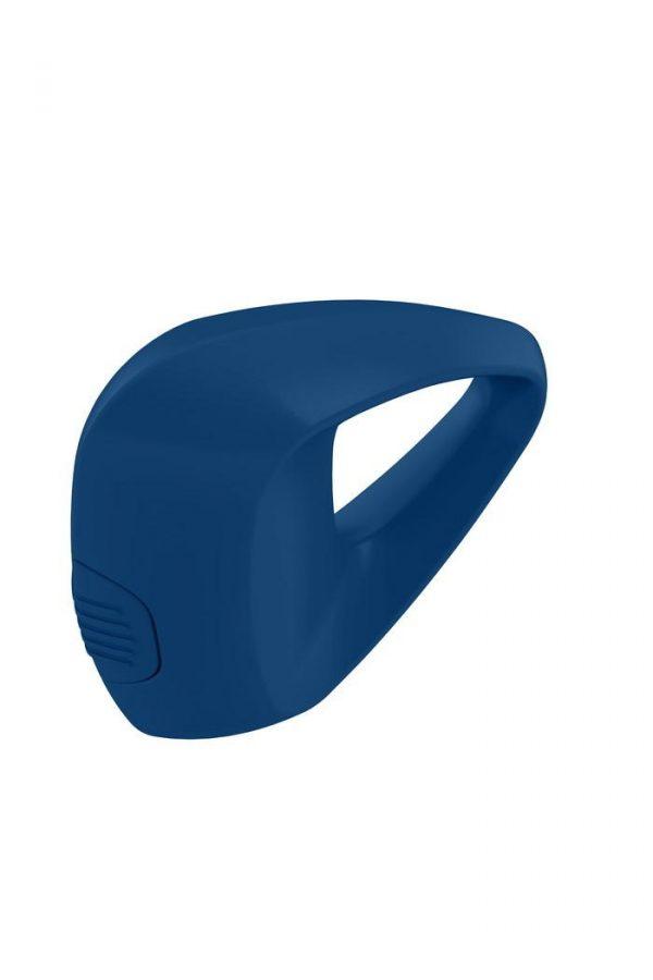 Эрекционное кольцо OVO инновационной трехгранной формы с мощной вибрацией, силиконовое, синее, Категория - Секс-игрушки/Кольца и насадки/Кольца на пенис, Атрикул 0T-00002684 Изображение 2
