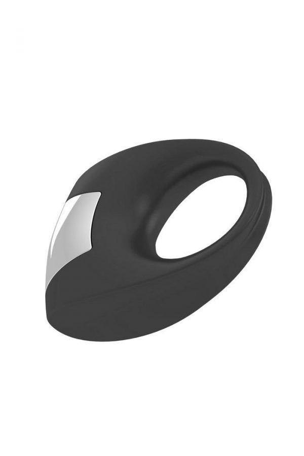 Эрекционное кольцо OVO с удобной кнопкой включения и сильной вибрацией, силиконовое, черное, Категория - Секс-игрушки/Кольца и насадки/Кольца на пенис, Атрикул 0T-00002683 Изображение 2