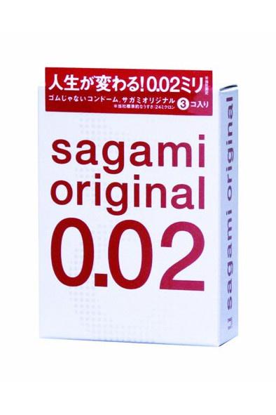 Презервативы Sagami Original 0.02  УЛЬТРАТОНКИЕ,гладкие №3, Категория - Презервативы/Классические презервативы, Атрикул 0T-00000118 Изображение 1