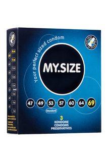Презервативы  ''MY.SIZE'' №3 размер 69 (ширина 69mm), Категория - Презервативы/Классические презервативы, Атрикул 0T-00003541 Изображение 1
