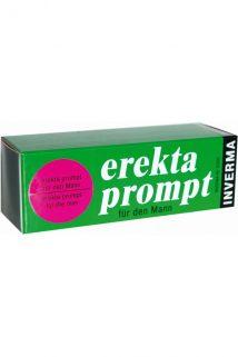 Крем возбуждающий Inverma Erekta Prompt, для мужчин, 13 мл, Категория - Интимная косметика/Кремы для стимуляции и коррекции размеров/Кремы возбуждающие, Атрикул 0T-00004012 Изображение 1