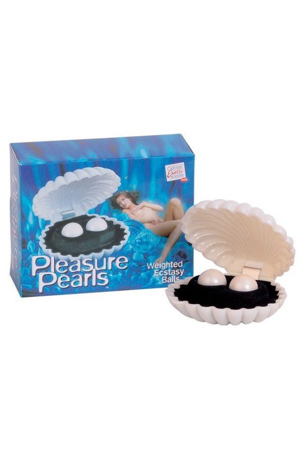 Вагинальные шарики Dream Toys, ABS пластик, Белый, Ø 2,1см, Категория - Секс-игрушки/Вагинальные шарики и тренажеры интимных мышц/Вагинальные шарики, Атрикул 0T-00004166 Изображение 1