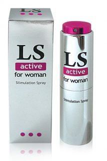 Спрей для женщин (стимулятор) LOVESPRAY ACTIVE'' 18гр, Категория - Интимная косметика/Кремы для стимуляции и коррекции размеров/Кремы возбуждающие, Атрикул 0T-00004545 Изображение 1