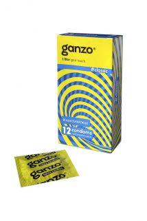 Презервативы Ganzo Classic № 12 Классические с обильной смазкой ШТ, Категория - Презервативы/Классические презервативы, Атрикул 0T-00004879 Изображение 1