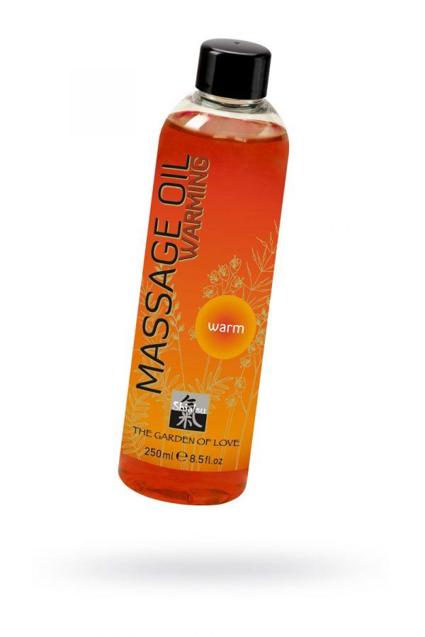 Массажное масло согревающее 250мл, Категория - Интимная косметика/Средства для массажа/Гели и масла, Атрикул 0T-00005156 Изображение 1