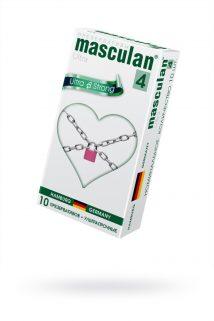 Презервативы Masculan Ultra 4,  10 шт.  Ультра прочные ШТ, Категория - Презервативы/Классические презервативы, Атрикул 0T-00005552 Изображение 1
