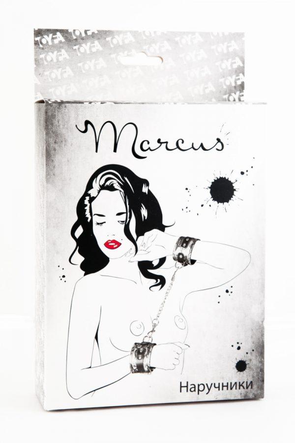 Кружевные наручники TOYFA Marcus серебристые, 42 см., Категория - БДСМ, фетиш/Фиксация и бондаж/Наручники, манжеты, Атрикул 0T-00005446 Изображение 2