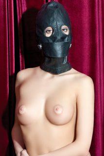 Маска TOYFA Theatre ,кожаная черная, Категория - БДСМ, фетиш/Маски, Атрикул 0T-00005577 Изображение 1