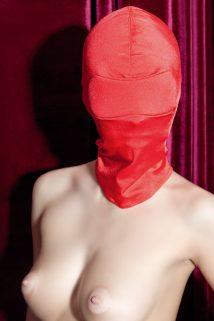 Маска TOYFA Theatre эластичная красная, Категория - БДСМ, фетиш/Маски, Атрикул 0T-00005576 Изображение 1