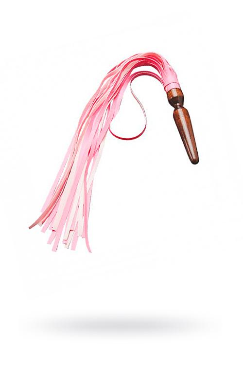 Плеть Sitabella розовая,60 см, Категория - БДСМ, фетиш/Ударные девайсы/Кнуты, плети, флоггеры, Атрикул 0T-00005697 Изображение 1