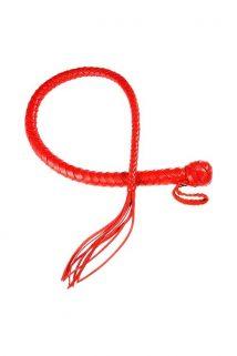 Плеть Sitabella красная,80 см, Категория - БДСМ, фетиш/Ударные девайсы/Кнуты, плети, флоггеры, Атрикул 0T-00005612 Изображение 1