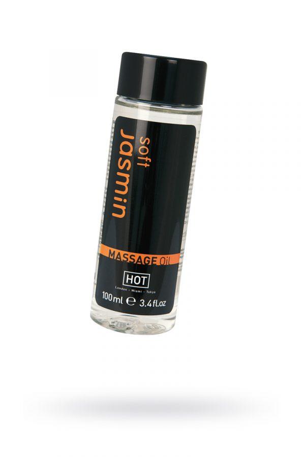 Массажное масло для тела HOT Soft Jasmin, 100 мл, Категория - Интимная косметика/Средства для массажа/Гели и масла, Атрикул 0T-00006014 Изображение 1