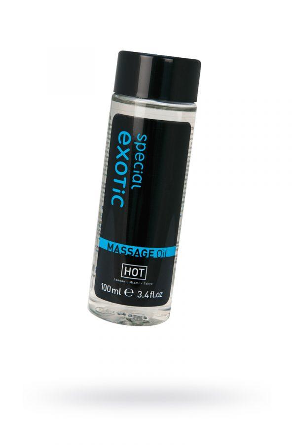 Массажное масло HOT Exotic, 100 мл, Категория - Интимная косметика/Средства для массажа/Гели и масла, Атрикул 0T-00006011 Изображение 1