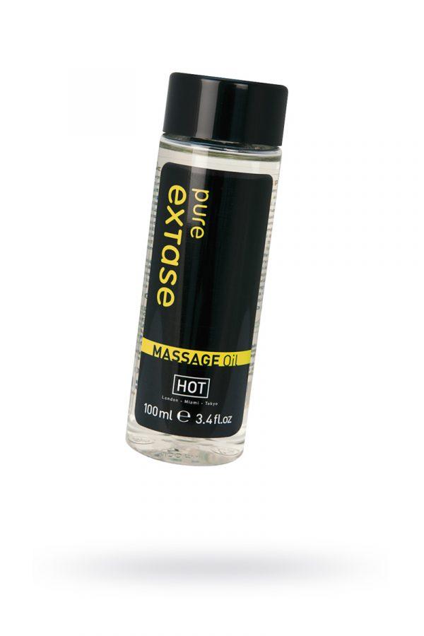 Массажное масло HOT Pure Extase, 100 мл, Категория - Интимная косметика/Средства для массажа/Гели и масла, Атрикул 0T-00006013 Изображение 1