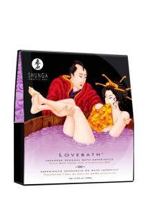 Гель для ванны Shunga «Чувственный лотос», фиолетовый, 650 г, Категория - Интимная косметика/Косметика для ванны и душа/Релакс-средства, Атрикул 0T-00005971 Изображение 1
