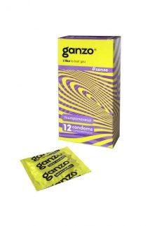 Презервативы Ganzo Sense № 12Ультратонкие ШТ, Категория - Презервативы/Классические презервативы, Атрикул 0T-00005399 Изображение 1