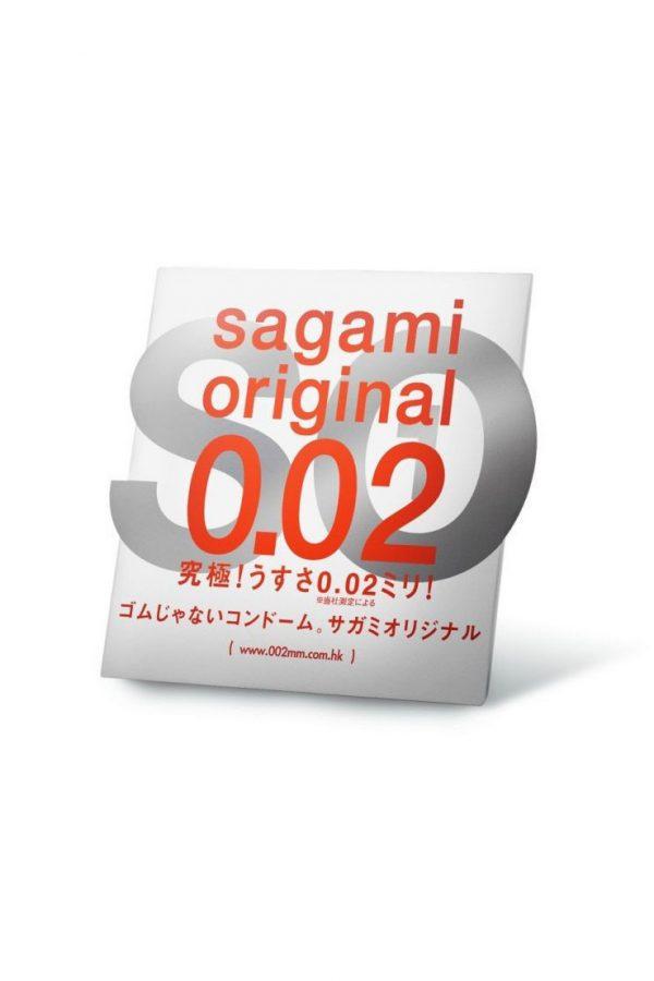 Презервативы Sagami Original 0.02  УЛЬТРАТОНКИЕ,гладкие №1, Категория - Презервативы/Классические презервативы, Атрикул 0T-00006621 Изображение 1