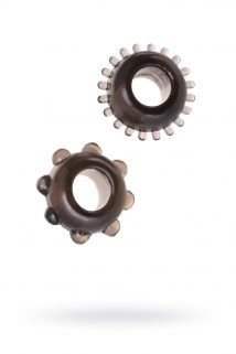 Набор колец Seven Creations, TPE, черный, Категория - Секс-игрушки/Кольца и насадки/Наборы колец и насадок, Атрикул 0T-00006722 Изображение 1