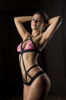 One Size(42-48) Боди MENSDREAMS Розовая кокетка, черно-розовое, OS, Категория - Белье и одежда/Женская одежда и белье/Боди и комбинезоны, Атрикул 0T-00006999 Изображение 1