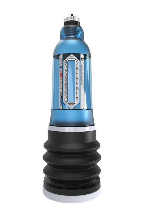 Гидропомпа Bathmate Hydromax X20, голубая, 26 см, Категория - Секс-игрушки/Помпы/Помпы для пениса, Атрикул 0T-00007094 Изображение 2