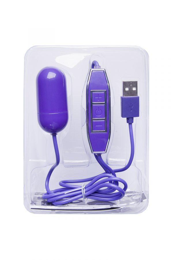 Виброяйцо NMC Powerful X, 5 режимов вибрации с 5 уровнями мощности, фиолетовое, 5 см, Категория - Секс-игрушки/Вибраторы/Виброяйца, Атрикул 0T-00007177 Изображение 2