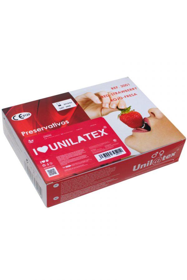 Презервативы Unilatex Multifrutis №144  ароматизированные ,клубничные (упаковка), Категория - Презервативы/Классические презервативы, Атрикул 0T-00007258 Изображение 1