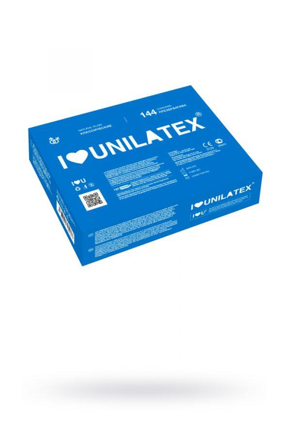 Презервативы Unilatex Natural Plain №144  гладкие классические (упаковка), Категория - Презервативы/Классические презервативы, Атрикул 0T-00007257 Изображение 1