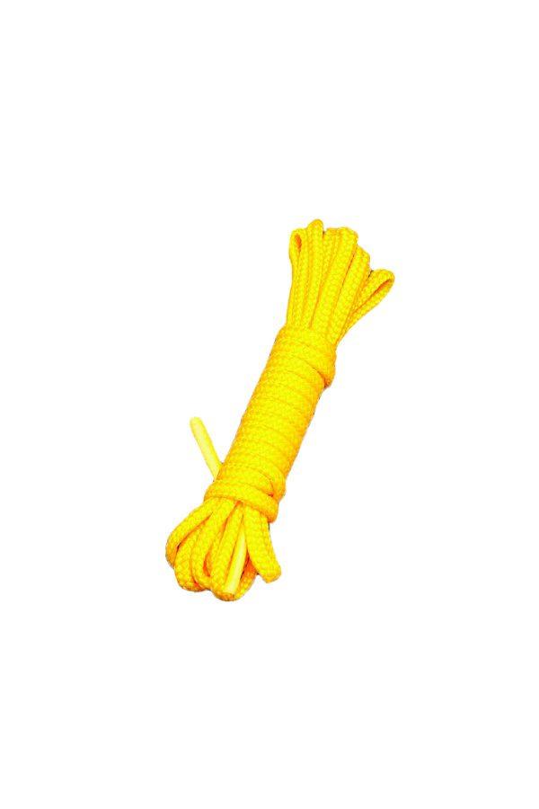 Бондаж Sitabella жёлтый 9 м, Категория - БДСМ, фетиш/Фиксация и бондаж/Веревки, ленты для бондажа, Атрикул 0T-00007443 Изображение 1