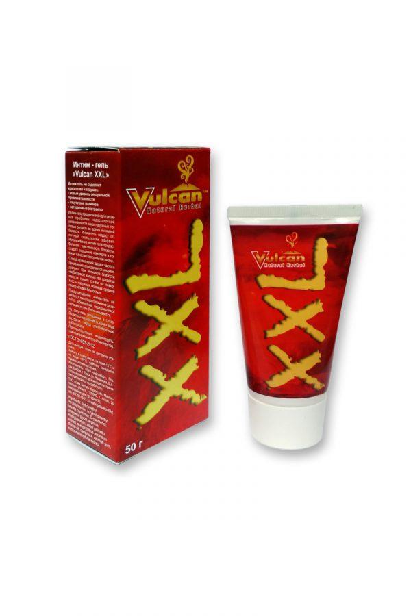 Интим гель ''Vulcan XXL'', Категория - Интимная косметика/Кремы для стимуляции и коррекции размеров/Кремы для увеличения пениса, Атрикул 0T-00007500 Изображение 1