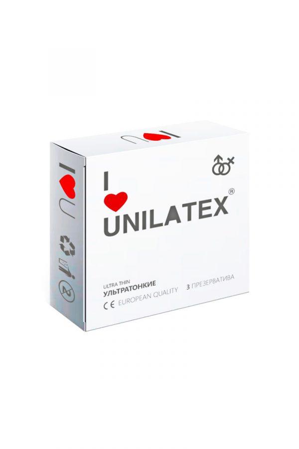 Презервативы Unilatex Natural Ultrathin  №3  ультратонкие, Категория - Презервативы/Классические презервативы, Атрикул 0T-00007547 Изображение 1