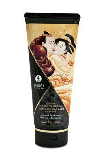 Массажный крем Shunga, съедобный, со вкусом миндаля, 200 мл, Категория - Интимная косметика/Средства для массажа/Гели и масла, Атрикул 0T-00007693 Изображение 1