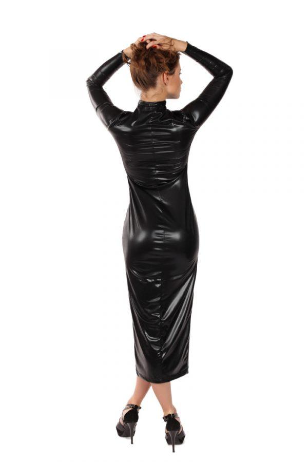 S/M Платье на молнии MENSDREAMS, черное, S-M, Категория - Белье и одежда/Женская одежда и белье/Эротические платья, юбки, Атрикул 0T-00007913 Изображение 1