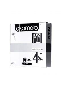 Презервативы Окамото серия Skinless Skin  Puriti №3 Сверх-тонкие, сверх-чувствительные, Категория - Презервативы/Классические презервативы, Атрикул 0T-00008078 Изображение 1