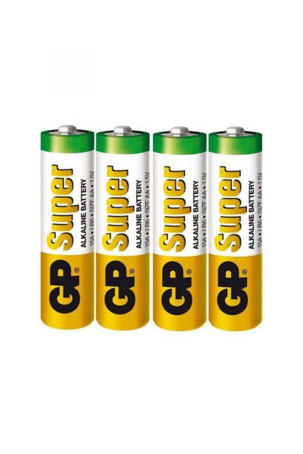 Батарейки типа АА GP LR6 бб упаковка 20 шт, Категория - Секс-игрушки/Элементы питания и зарядные устройства/Элементы питания, Атрикул 0T-00008162 Изображение 1
