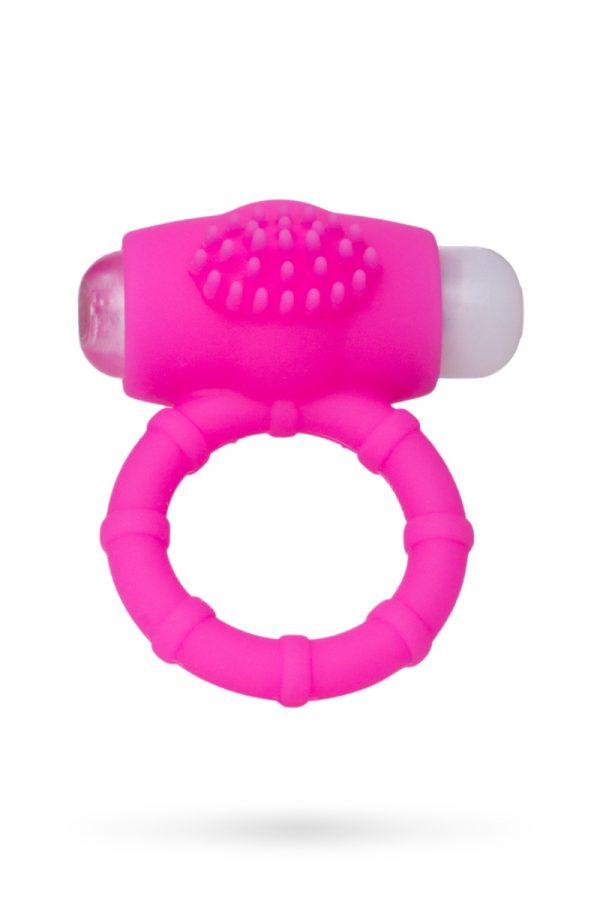 Эрекционное кольцо на пенис Штучки-дрючки, силикон, розовый, Ø2,5 см, Категория - Секс-игрушки/Кольца и насадки/Кольца на пенис, Атрикул 0T-00011254 Изображение 2