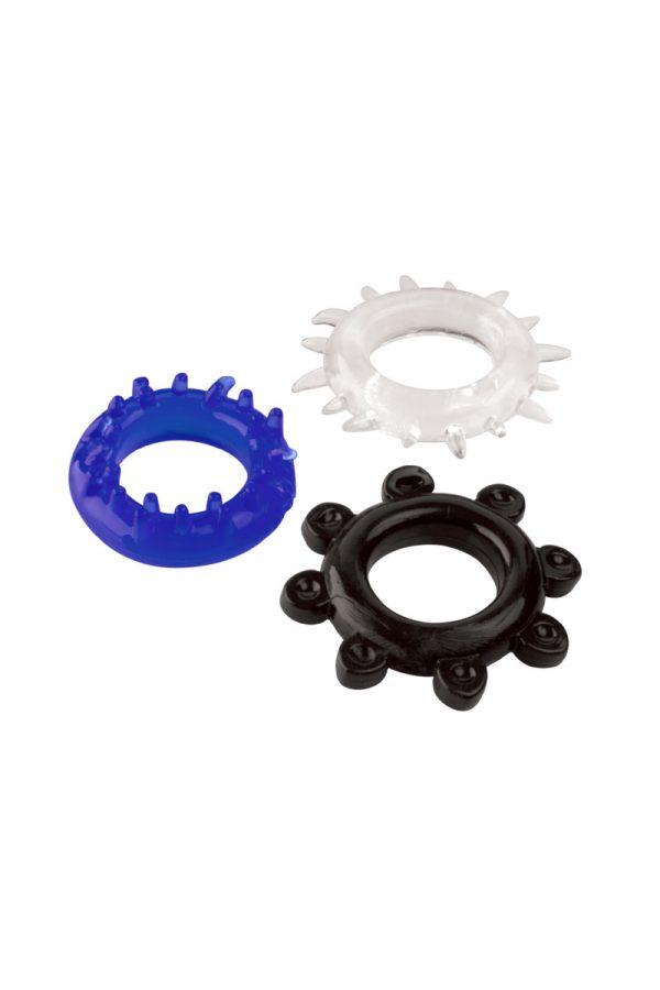 Набор колец TOYFA A-toys, TPE, Ø 3 см, Категория - Секс-игрушки/Кольца и насадки/Наборы колец и насадок, Атрикул 0T-00008055 Изображение 1