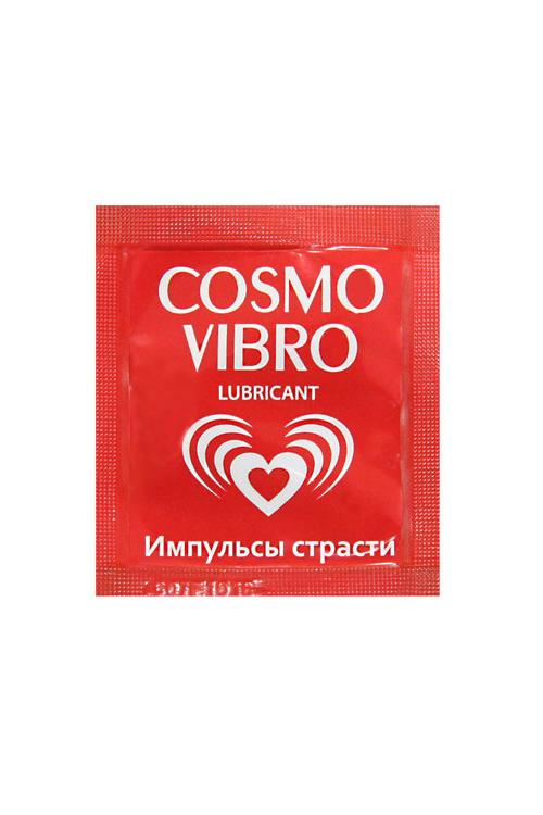 Любрикант ''COSMO VIBRO'' 3г,20 шт в упаковке, Категория - Гели, смазки и лубриканты/Гели и смазки для вагинального секса, Атрикул 0T-00008279 Изображение 1