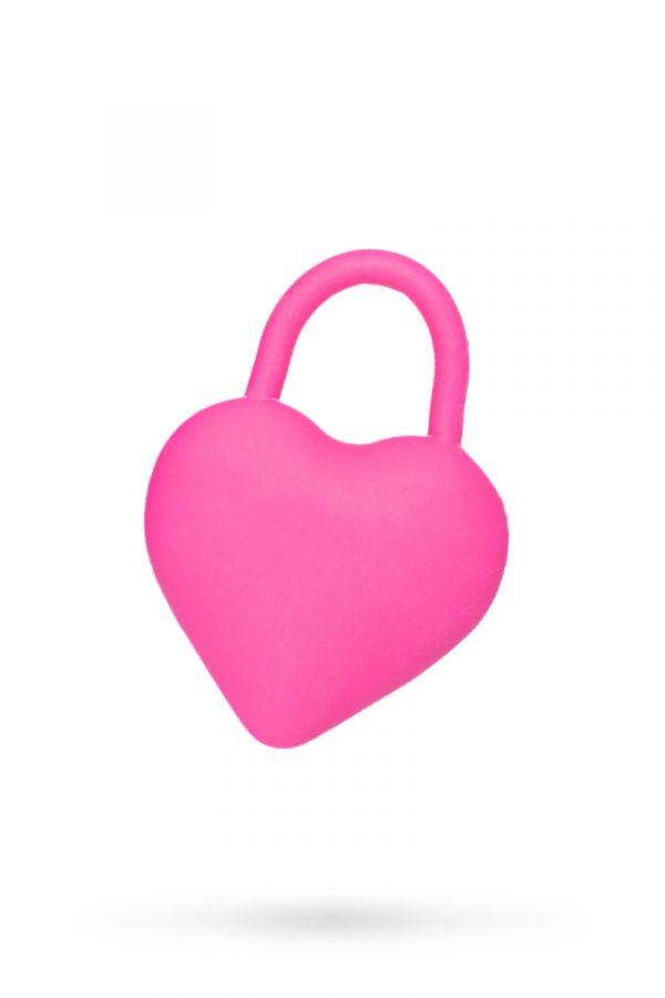 Вибромассажер в форме сердца для пар, розовый, Категория - Секс-игрушки/Вибраторы/Вибраторы для пар, Атрикул 0T-00008063 Изображение 1