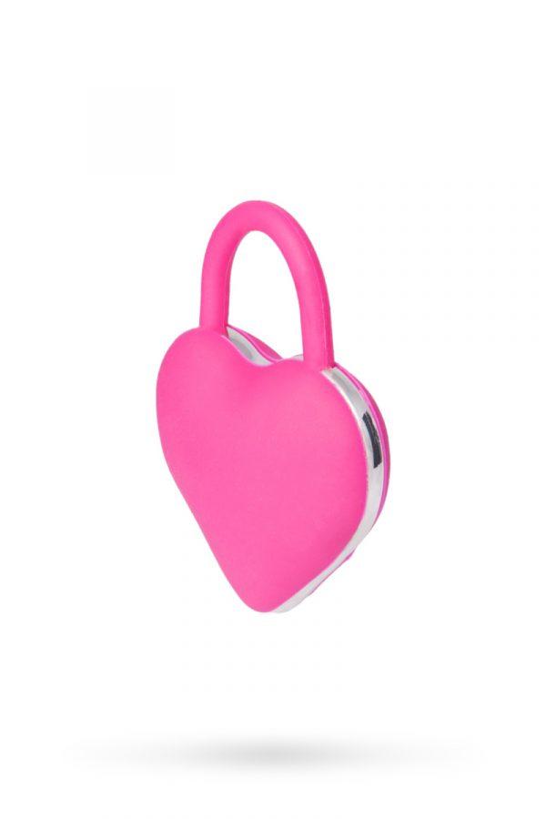 Вибромассажер в форме сердца для пар, розовый, Категория - Секс-игрушки/Вибраторы/Вибраторы для пар, Атрикул 0T-00008063 Изображение 2
