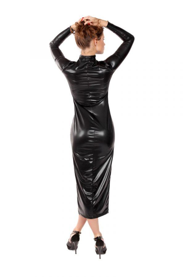 L/XL Платье на молнии MENSDREAMS, черное, L-XL, Категория - Белье и одежда/Женская одежда и белье/Эротические платья, юбки, Атрикул 0T-00008669 Изображение 2